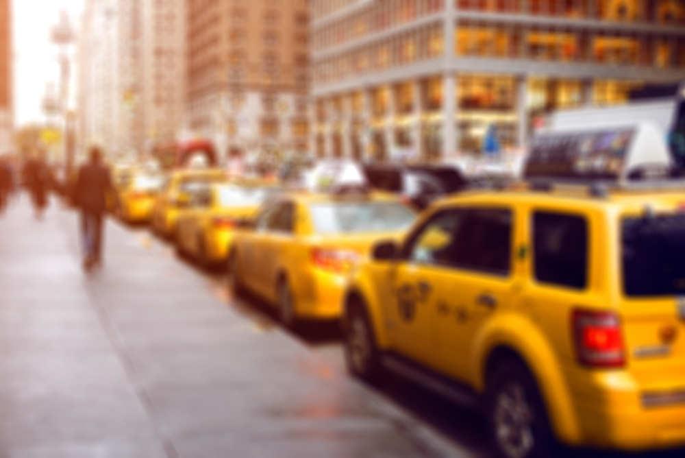 Hacer fotos desde un taxi